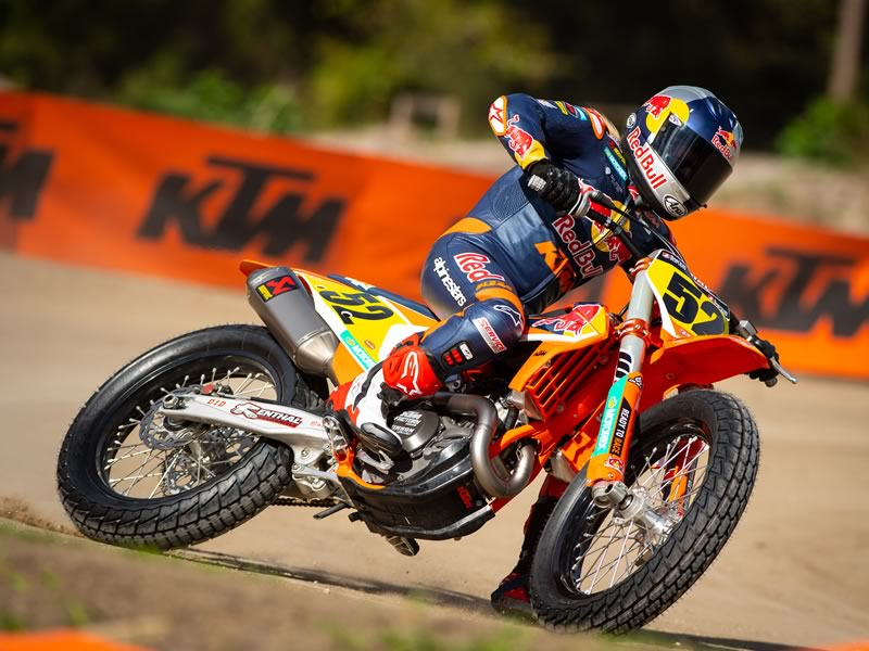 Shayna Texter - Dirt Track Racer - Red Bull KTM Factory Race Team