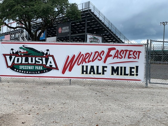 Volusia is definitely the Worlds Fastest Half Mile!